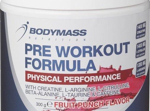 Bodymass Pre workout extreme Formula 300 gr