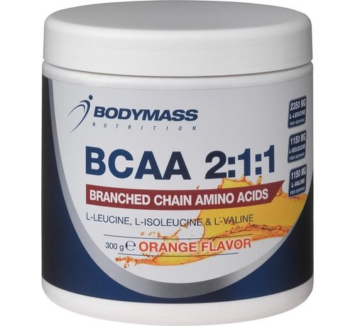 Bodymass BCAA 2:1:1, Branched chain amino acids 300gr