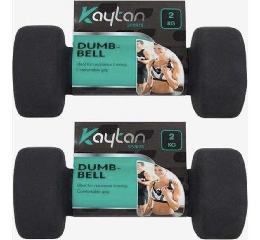 Dumbbells 2kg (stuks) totaal 4kg