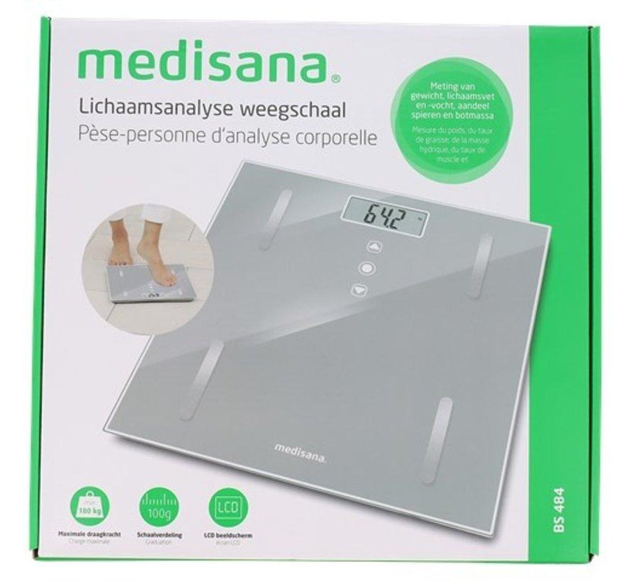 Medisana lichaamsanalyse-weegschaal