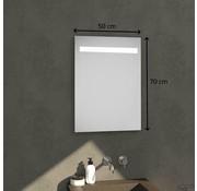 Drogistonline.eu Badkamerspiegel met Verlichting - Wandspiegel 50x70x03 cm