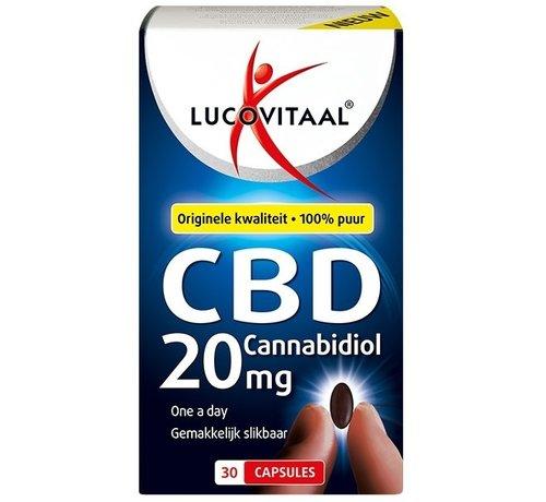 Lucovitaal Cannabidiol CBD 20 mg