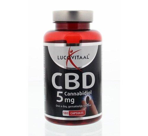 Lucovitaal Cannabidiol CBD 5 mg