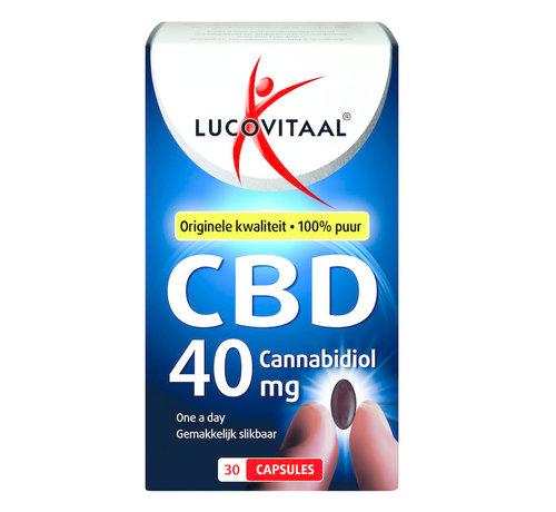 Lucovitaal CBD 40 mg