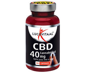 Lucovitaal CBD Cannabidiol 40 mg