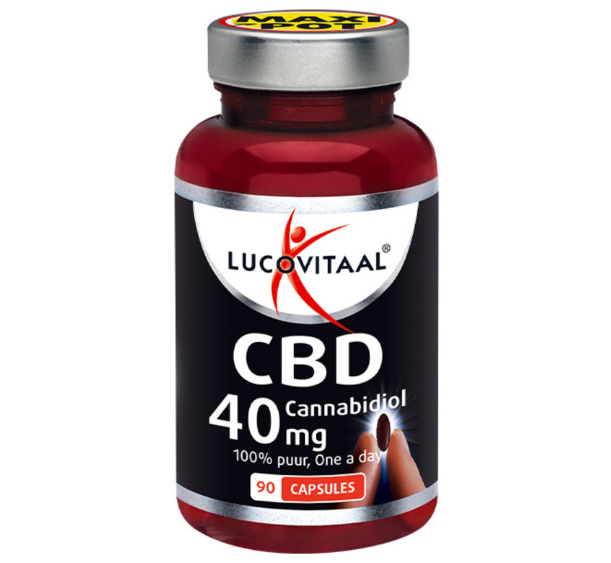 CBD Cannabidiol 40 mg