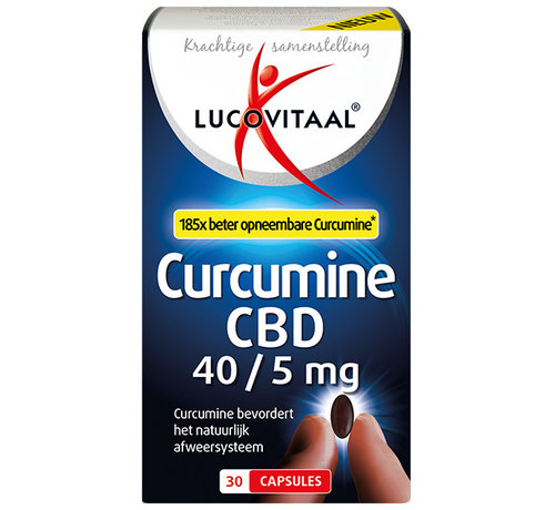 Lucovitaal Curcumine CBD 40/5 mg
