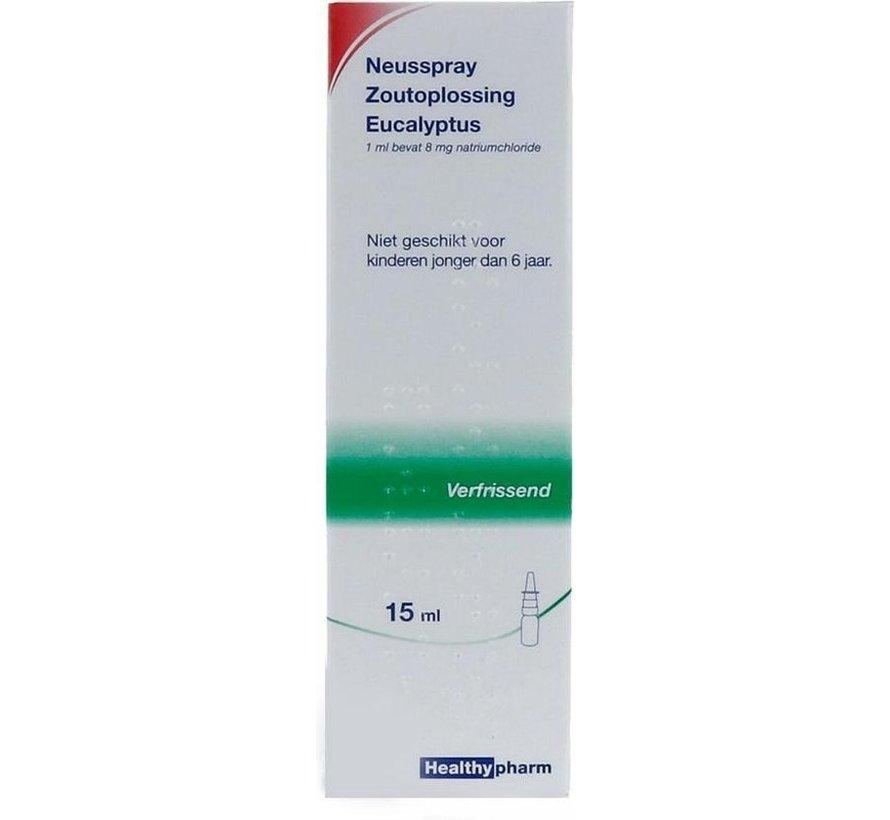 Healthypharm - Neusspray - Zoutoplossing - Eucalyptus - 15ml