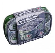 Channel Distribution toilettas Washweiser heren 22 x 15 cm PVC groen/grijs