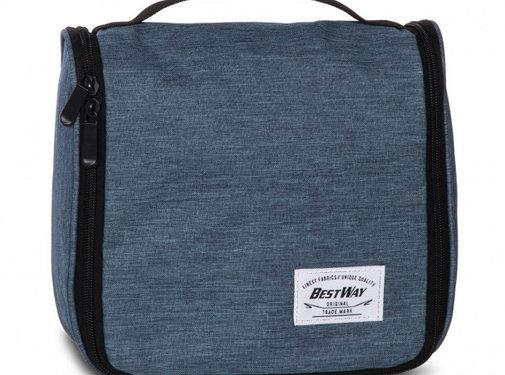 Bestway toilettas 5 liter polyester/mesh blauw