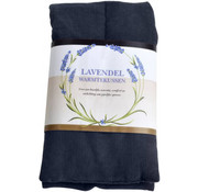 O'Daddy warmtekussen met lavendelgeur 68 x 14 cm nylon donkerblauw