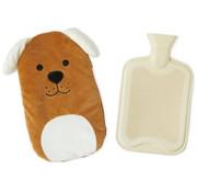 Balvi kruik hond 35 x 27 cm polyester/rubber bruin/beige