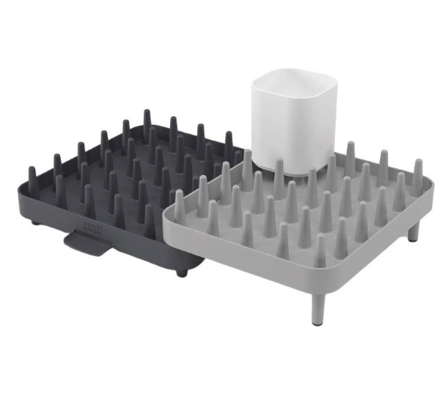 afdruiprek Connect 37 cm polypropyleen grijs