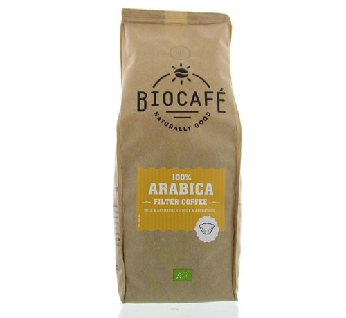 Biocafe Arabica gemalen bio