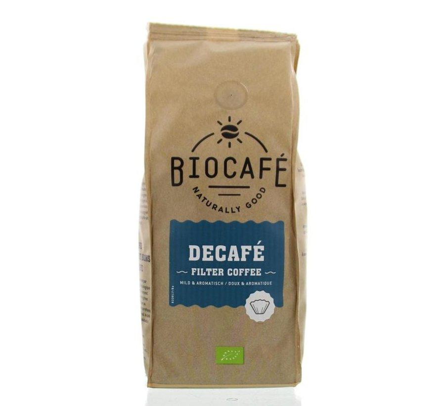 Caffeinevrij gemalen bio