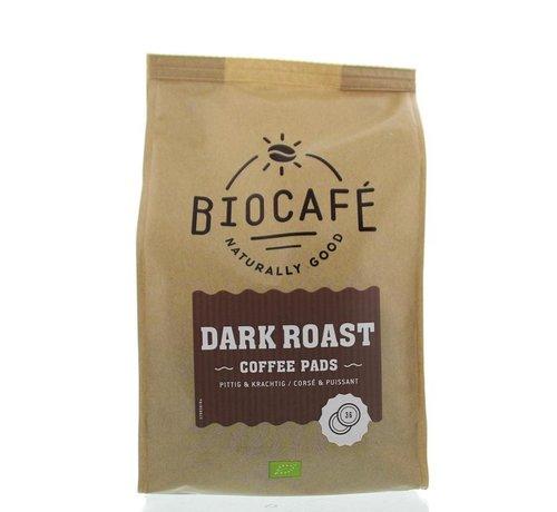 Biocafe Coffee pads dark roast bio
