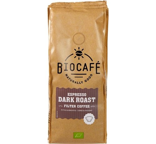 Biocafe Espresso gemalen bio