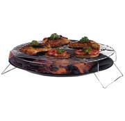 BBQ Collection barbecueschaal 36 cm zwart