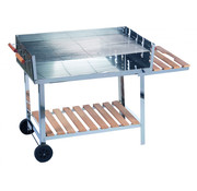 BBQ Collection BBQ Collection barbecue trolley RVS 98 x 56 cm