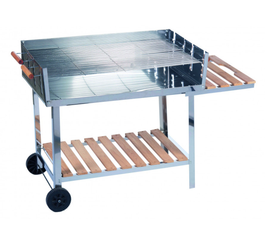 BBQ Collection barbecue trolley RVS 98 x 56 cm