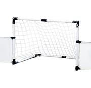 Dunlop Dunlop Set Voetbal - Boarding, Voetbaldoel, Hoekvlaggen, Voetbal en Pomp - 230x73x36cm
