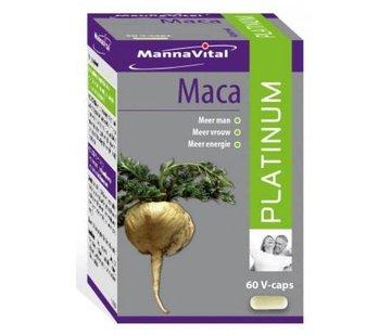MannaVital Mannavital Maca platinum 60 caps