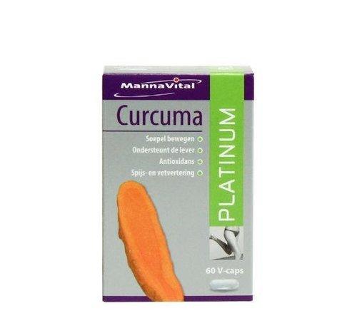 MannaVital Mannavital Curcuma platinum 60 vcaps