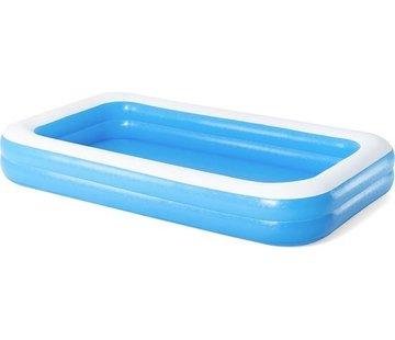 Bestway Bestway familie zwembad 54150 - opblaasbad - 305 x 183 x 46 cm - extra brede zijwanden - 3+