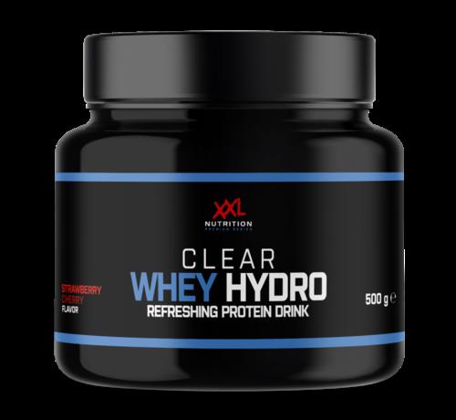 XXL Nutritio Clear Whey Hydro - Aarbei Kers - 500 gram