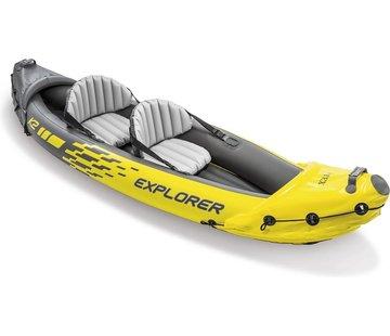 Intex Intex explorer k2 kayak, boot 84 aluminum peddel 312x91 cm