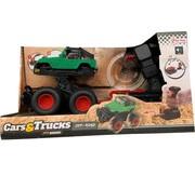 Speelgoed Monstertruck met Lanceerpistool - Groen