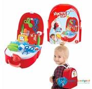 Speelgoed Toi-toys Doktersset Junior 26 X 22,5 Cm Rood/wit 16-delig