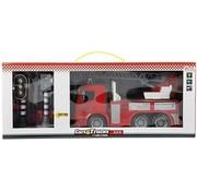 Speelgoed Toi-toys Brandweerwagen Met Verkeerslichten Rood 49 Cm