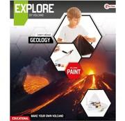 Speelgoed EXPLORE Wetenschap set -maak een vulkaan (diy)