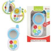 Speelgoed Toi-toys Babytelefoon Junior 13 Cm Wit