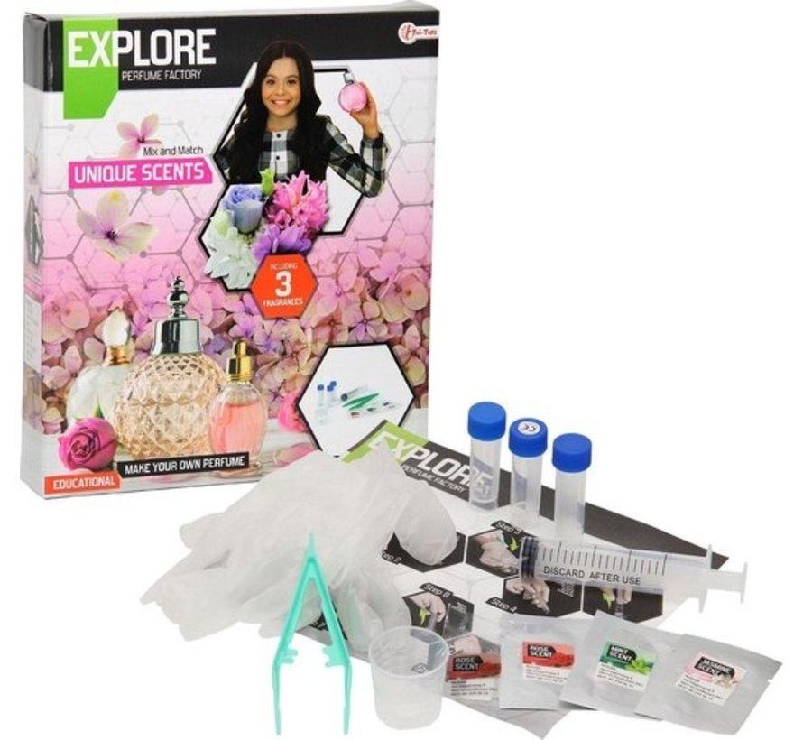 EXPLORE Wetenschap set -maak parfum