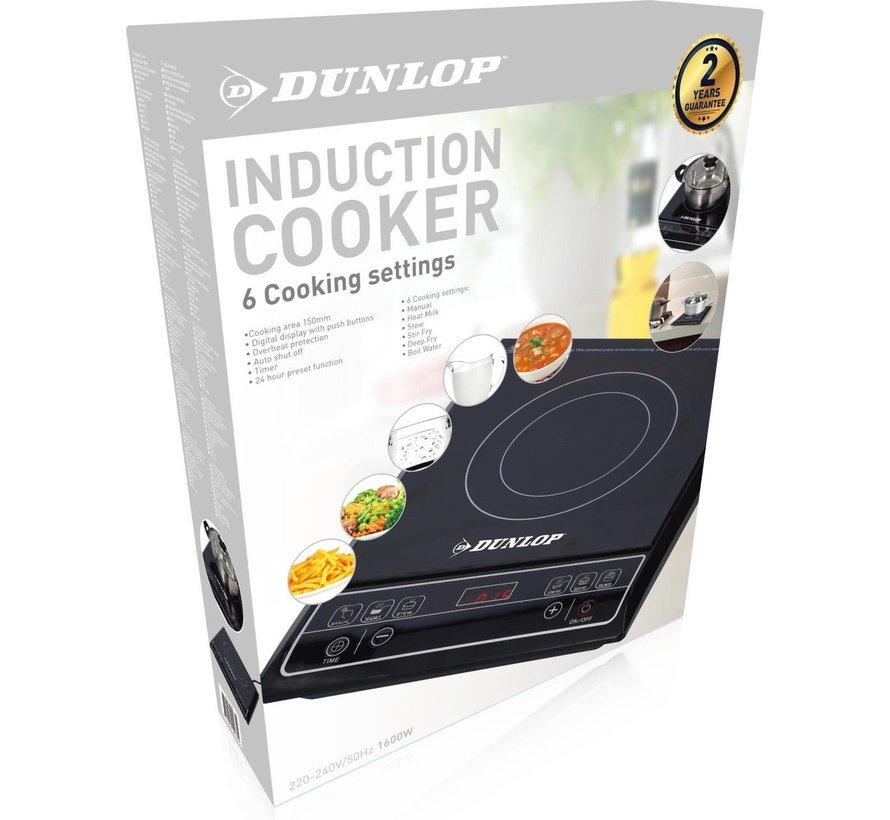 1 Pits inductie kookplaat - 1600 Watt