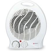 Alpina Ventilatorkachel - Draagbaar - 2000 Watt - 2 Warmtestanden - Anti-Oververhitting - Wit