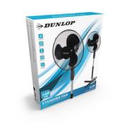 Dunlop vloerventilator - 3 Snelheden - Zwenkfunctie - 42 Watt - Zwart