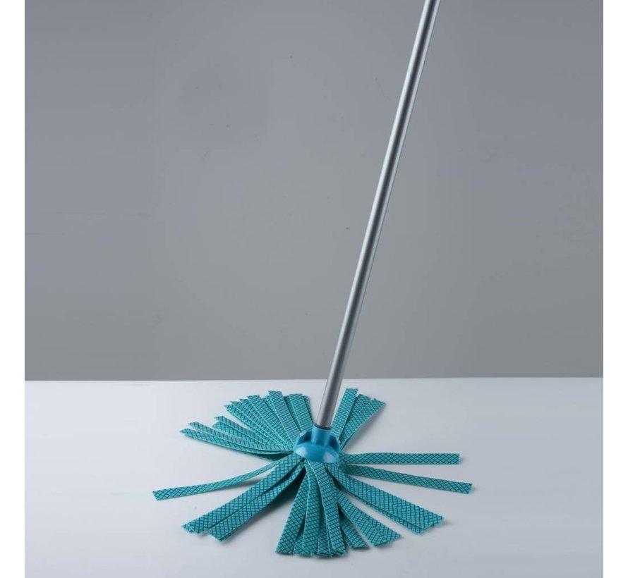 Lifetime Schoonmaakset 5-delig 120 cm - Blauw of groen en Rood