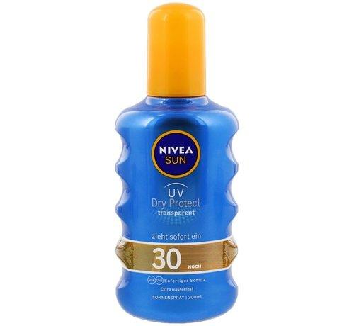 Nivea Nivea zonnespray Dry Protect SPF 30   200 ml