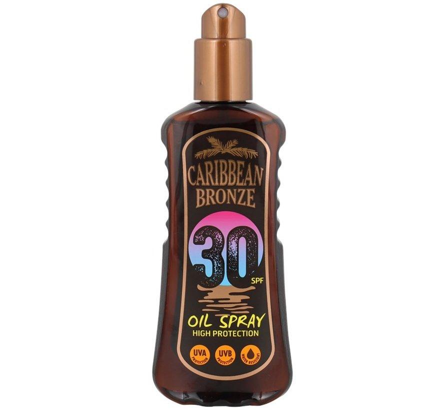 Caribbean Bronze zonneolie-spray SPF 30   200 ml