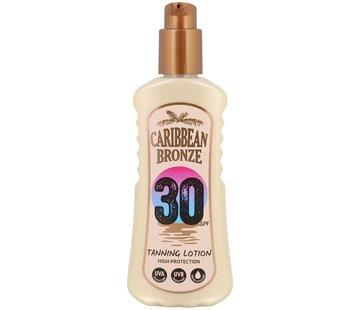 Caribbean Bronze zonnebrand-spray SPF 30 | 200 ml