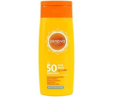 Zenova zonnemelk Sensitive SPF 50 | 200 ml