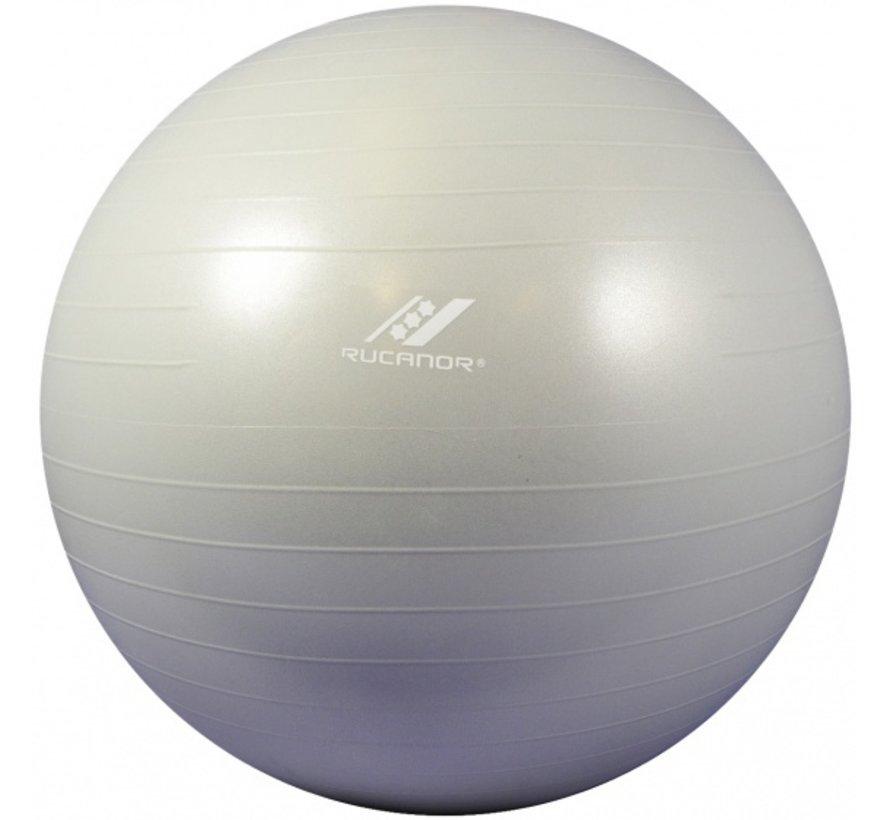 Rucanor fitnessbal 65 cm grijs