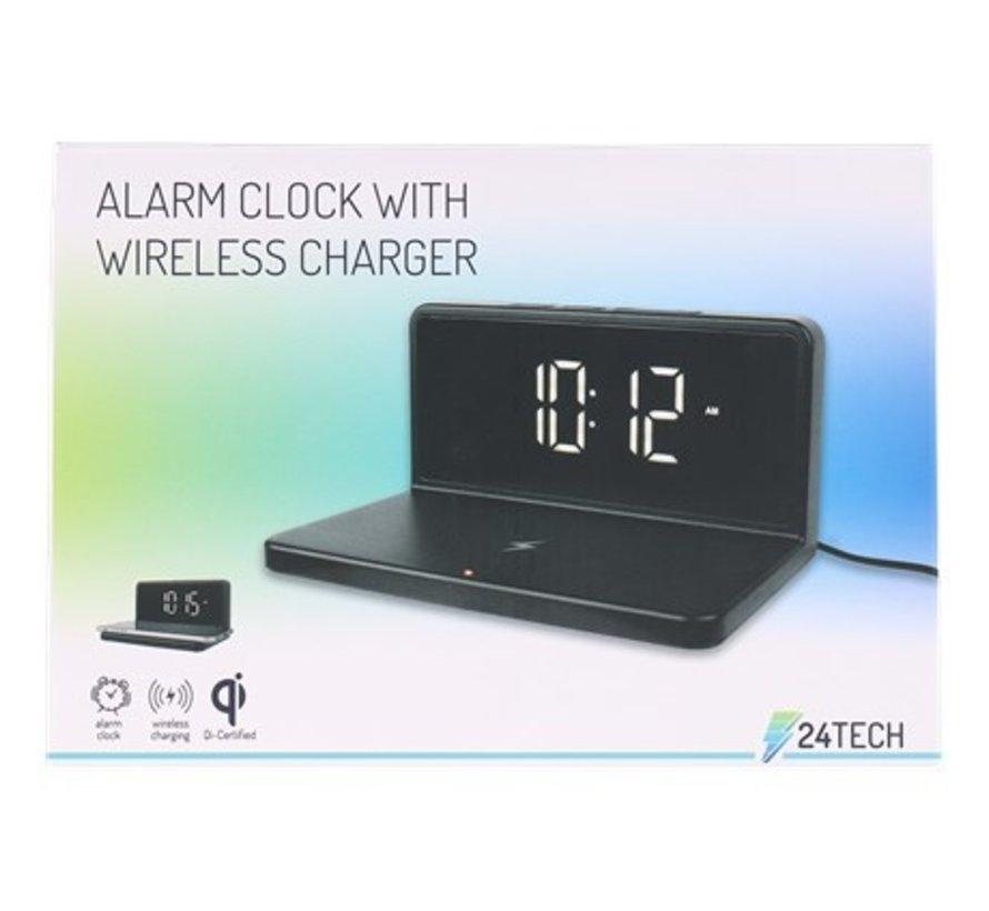 Alarmklok met draadloze oplader 2-in-1