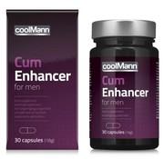 Coolmann CoolMann - Cum Enhancer Sperma Verbeteraar - 30 stuks