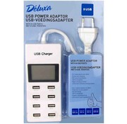Deluxa USB-voedingsadapter met 8 USB-poorten