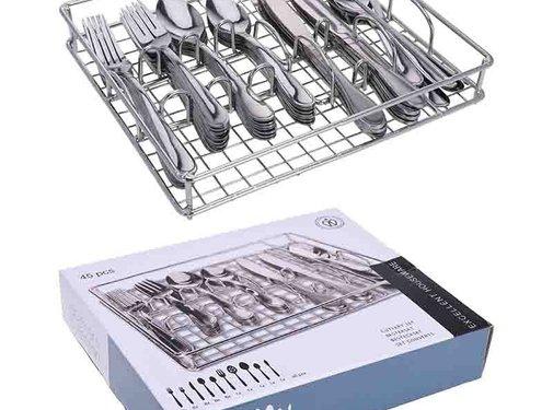 Excellent Houseware Bestekset 45-delig - 8 personen