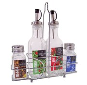 Cuisine Performance Olie- en azijnstel - met peper- en zoutsetje